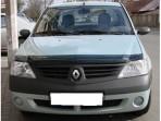 Дефлектор капота для Renault Logan 2004-2013