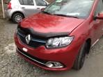 Дефлектор капота для Renault Logan 2013-