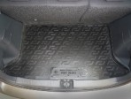 Резиновый коврик в багажник для Fiat Sedici 2006-