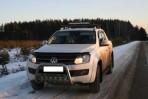 Дефлектор капота для Volkswagen Amarok 2009-