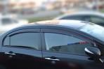 Cobra Tuning Дефлекторы окон для Honda Civic 4D Sedan 2006-2012
