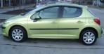 Дефлекторы окон для Peugeot 207 2006-2012 (5 дверей)