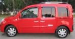 Дефлекторы окон для Renault Kangoo 2008- (5 дверей)