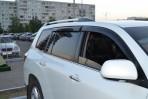 Дефлекторы окон для Toyota Highlander II 2007-
