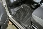 Коврики в салон для Nissan Micra 2002-2010 черные