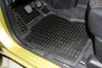 Коврики в салон для Nissan Note 2006- черные