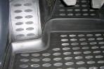 Коврики в салон для Peugeot Partner 1996-2008 (передние) черные