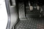 Коврики в салон для Renault Kangoo 2008- черные