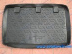 Резиновый коврик в багажник Kia Rio Hatchback 2005-2009