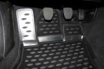 Коврики в салон для Subaru Outback 2010- черные