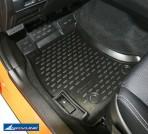 Коврики в салон для Subaru XV 2012- черные