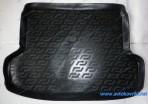 Резиновый коврик в багажник Kia Rio Sedan 2005-2009