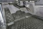 Коврики в салон для Toyota Land Cruiser 200 2007-2012 черные