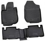 Коврики в салон для Toyota RAV4 2009-2013 черные