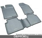Коврики в салон для Volkswagen Touran 2003- (5 мест) серые