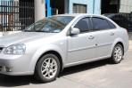 Дефлекторы окон Chevrolet Lacetti Sedan 2004- хром