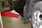 Брызговики для Nissan Tiida 2010- (передние)