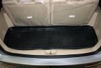 Коврик в багажник автомобиля Chery CrossEastar (B14) 2011- полиуретановый черный
