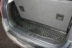 Коврик в багажник автомобиля Chevrolet Captiva 2012- (короткий) полиуретановый черный