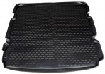Коврик в багажник автомобиля Chevrolet Orlando 2011- (5-мест) полиуретановый черный