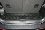 Коврик в багажник автомобиля Chevrolet Orlando 2011- (7-мест) полиуретановый черный
