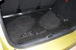 Коврик в багажник автомобиля Citroen C4 Picasso 2007- (base) полиуретановый черный