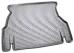 Коврик в багажник для Daewoo Nexia 1998- полиуретановый серый