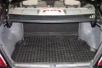 Коврик в багажник автомобиля Geely CK/CK-II 2005- полиуретановый черный