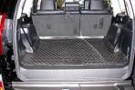 Коврик в багажник автомобиля Lexus GX 460 2009- (удлиненный) полиуретановый черный
