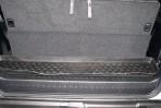 Коврик в багажник автомобиля Lexus GX 460 (короткий) полиуретановый черный