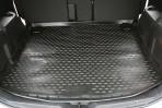 Коврик в багажник автомобиля Mazda 5 2010- (удлиненный) полиуретановый черный
