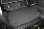 Коврик в багажник автомобиля Ssang Yong Rexton II 2007-2013 полиуретановый черный