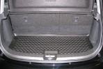 Коврик в багажник автомобиля Suzuki Splash 2008- полиуретановый черный