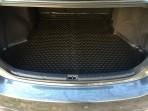 Коврик в багажник автомобиля Toyota Avensis 2009- полиуретановый черный