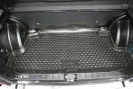 Коврик в багажник автомобиля Lada 2114 полиуретановый черный