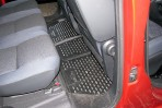 Коврики в салон для Peugeot Partner Tepee 2008- (2 шт. задние) ч