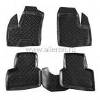 Полиуретановые коврики в салон Fiat Doblo 2000-