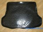 Резиновый коврик в багажник Nissan Tiida Sedan 2004-