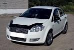 Дефлектор капота для Fiat Linea 2007-