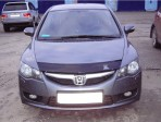 Дефлектор капота для Honda Civic 4D Sedan 2006-2012