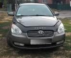 Дефлектор капота для Hyundai Accent 2006-2010