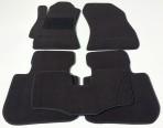 Коврики в салон текстильные для Subaru Outback 2010- черные Elit