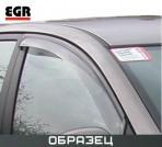Дефлекторы окон для Volkswagen Passat B5 Sedan 1996-2005 (дымчатые) 2 шт.