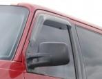 Дефлекторы окон для Volkswagen Transporter T4 1990-2003 (дымчатые) 2 шт.