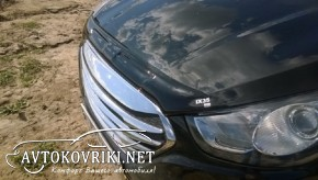 Дефлектор капота для Hyundai IX-35 2010- с логотипом EGR