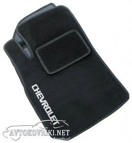 Коврики в салон текстильные для Chevrolet Aveo 2012- черные ML