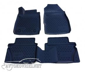 Novline 3D коврики в салон для Ford Fiesta 2011- черные