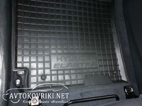 Коврики автомобильные в салон Хюндай Элантра 2014- FL Автогум по