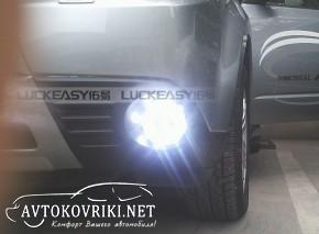 Штатные дневные ходовые огни LED-DRL для Subaru Forester III 200