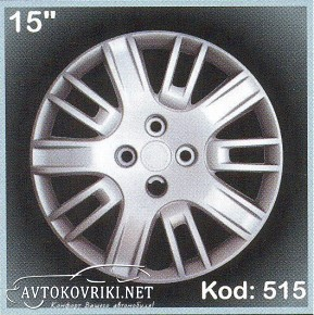 Колпаки колесные с эмблемой R15 (515) Fiat Doblo SKS